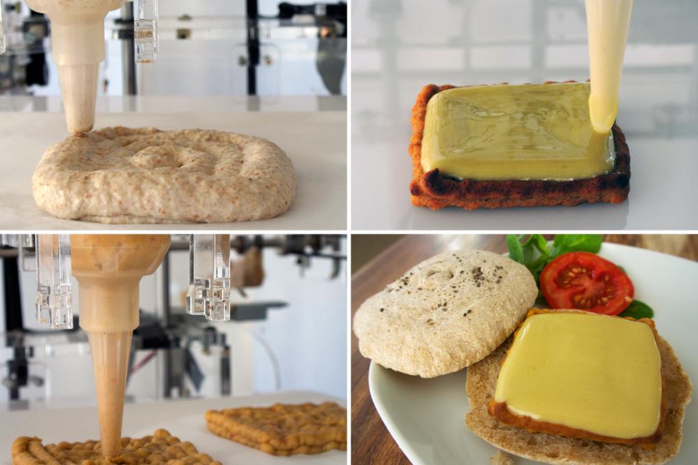 Пищевые 3D принтеры не оставят Вас голодными